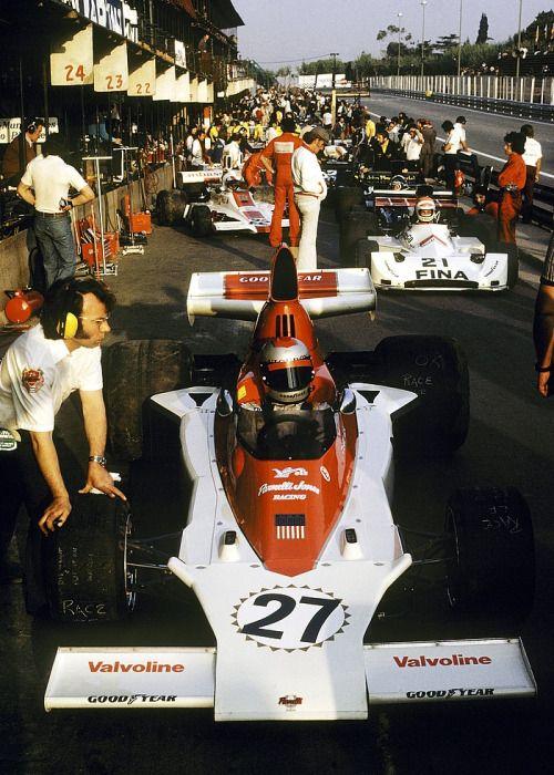 1975, Spanien GP, Montjuich, Mario Andretti, Parnelli,