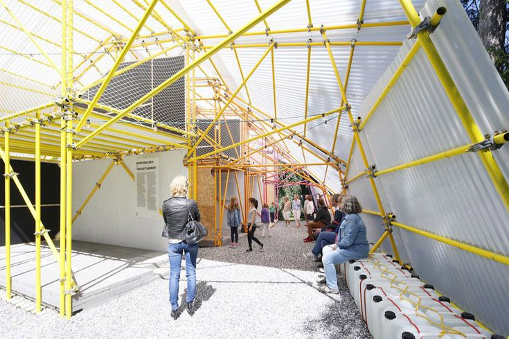 Pabellón diseñado por SelgasCano se convertirá en un colegio en Nairobi,Cortesía…