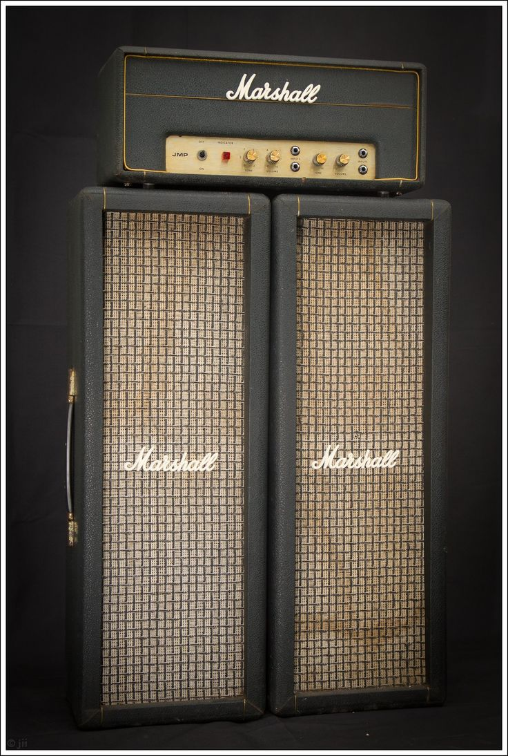 1969 Marshall JMP 1917 PA20   Marshall Pilar Cabinets   Oval Speakers