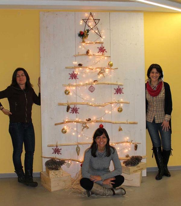 #Natale, Lu0027 #albero Di Cinzia, Laura, Valentina. #LeroyMerlin