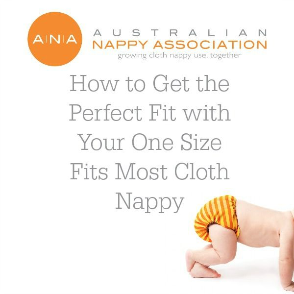 How to get the perfect fit with your OSFM cloth nappy @evavanstrijp