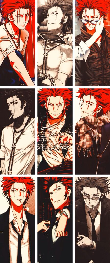 Suoh Mikoto from K Project