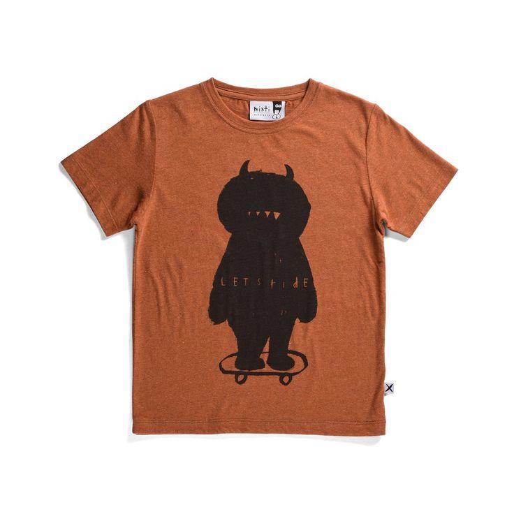 Minti Lets Ride Tshirt. Awesome Monster print! $39.95