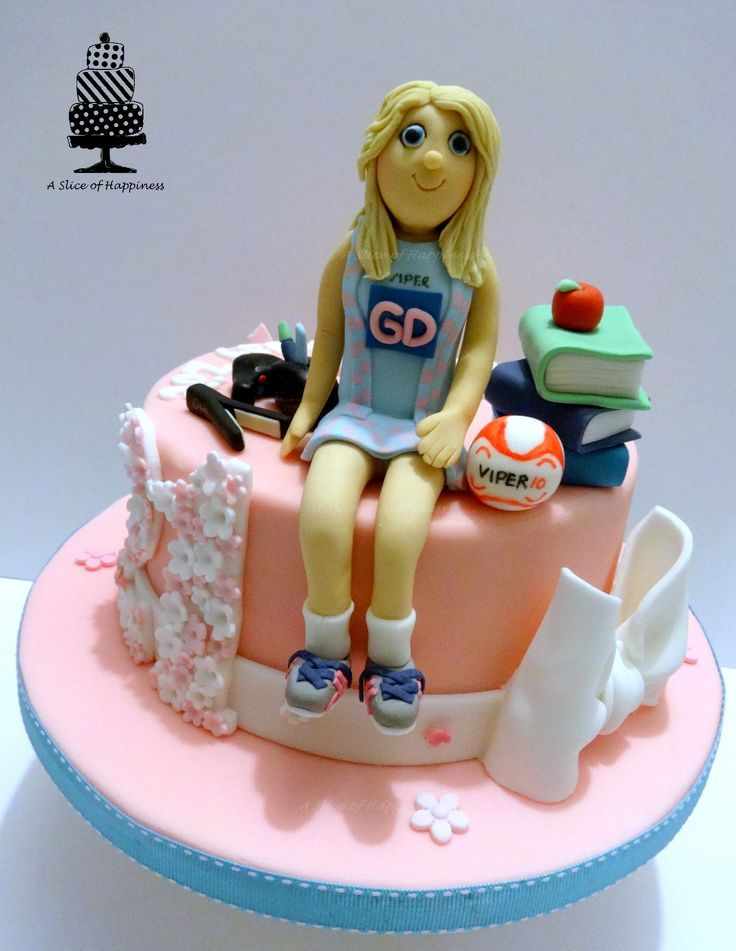 Netball Cake - A Slice of Happiness