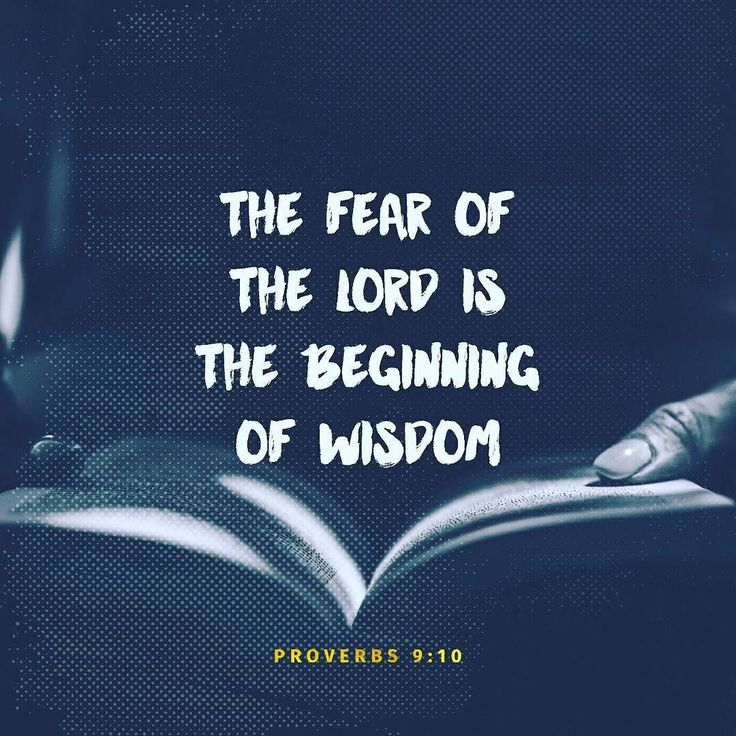 The fear of the Lord is the foundation of wisdom. Knowledge of the Holy One results in good judgemental.  Proverbs 9:10  Strong's Definition of FEAR -  Feminine of H3373; fear (also used as infinitive); morally reverence: - X {dreadful} X {exceedingly} fear (-fulness). Brown-Driver-Briggs' Definition fear terror fearing fear terror awesome or terrifying thing (object causing fear) fear (of God) respect reverence piety revered #bgbg2 #Bible #verse #NLT #fear #quote