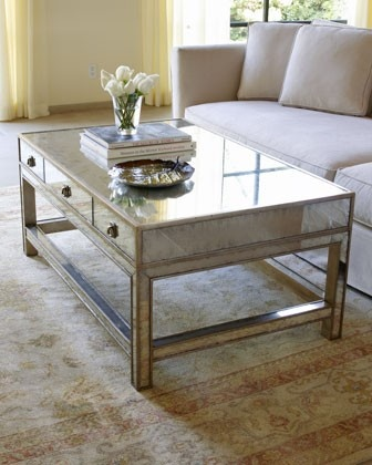 Find This Pin And More On Mesas Sala John Richard Collection Galla Mirrored Coffee Table