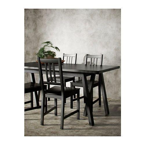 Lack Coffee Table Black Brown 118 X 78 Cm: RYGGESTAD Table, Black, Grebbestad Black