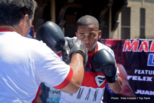 Felix Verdejo vs. Juan Jose Martinez Live Streaming Boxing   The main event is a spectacular 12-round junior lightweight showdown with champion Rocky Martinez (03/02/29 17 KOs) in the second defense of his crown against the announced Vasyl Lomachenko (5-1 3 KOs). From Vega Baja Puerto Rico Martinez 33 it is the subject of an essay and ready to face any challenge. Lomachenko 28 had a brilliant amateur career winning two gold medals as a member of the Olympic team of Ukraine. Since turning…