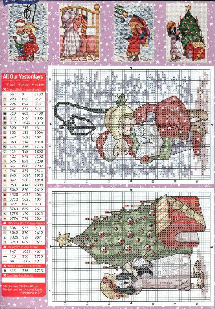 Cross Stitch ❄️♥❄️ Christmas