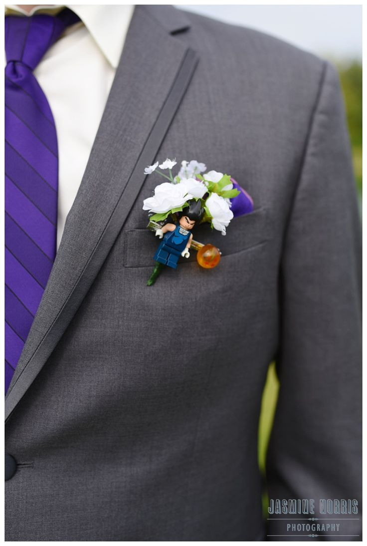 Fun Lego Dragonball-Z Boutonniere - Visit now for 3D Dragon Ball Z shirts now on sale!