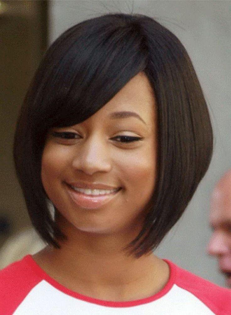 Cute Bang Styles Cute African American Little Girl Bob