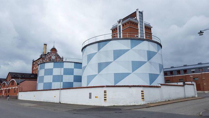 'Absolut' - #Åhus #Skåne #Sweden #Absolut #Vodka #distillery #architecture #blue