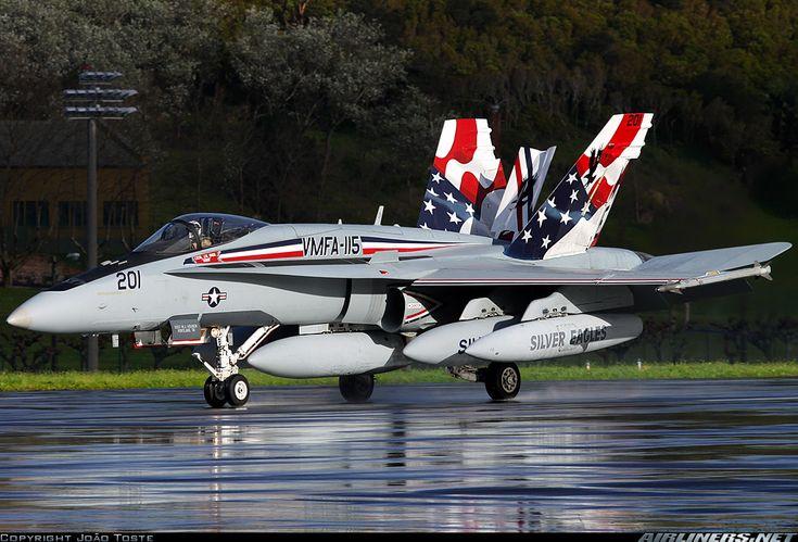 "F/A-18A Hornet VMFA-115 ""Silver Eagles"""