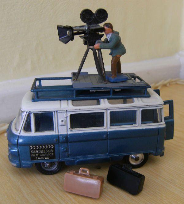 Corgi Toys Samuelson Camera Van