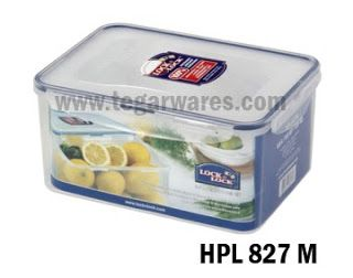 Lock & Lock Original HPL 827M Size 248 x 180 x 120mm 3.6L