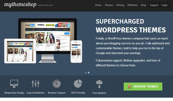 30 Best Places To Buy WordPress Themes