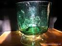 """LACA """"Lo Atamos Con Alambre""""   Copón hecho con damajuana y frasco de vidrio reciclados.  www.lacaloatamosconalambre.com"""
