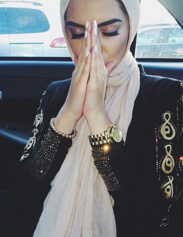 Her abaya