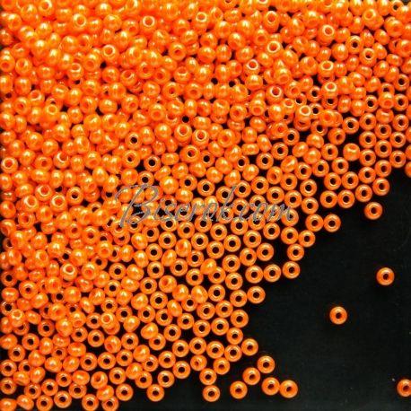 Чешский бисер Preciosa Rocaille 98110 10/0 непрозрачный цветной блестящий