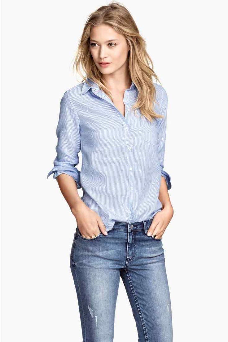 Camicia in cotone   H&M