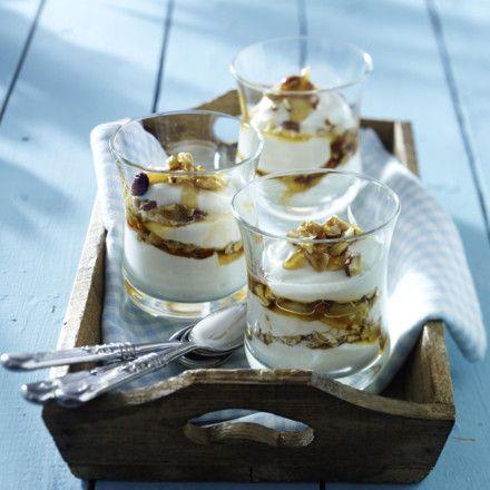 Griechischer Joghurt mit Honignüssen Rezept