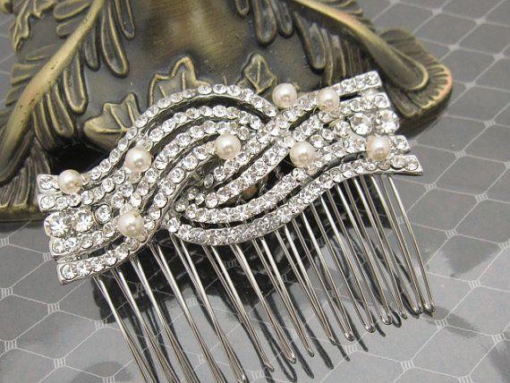 Casque perle Bridal de mariage accessoires mariage cheveux cheveux totale, morceau de cheveux Bridal peigne de cheveux mariée bijoux mariage cheveux morceau de cheveux de mariage