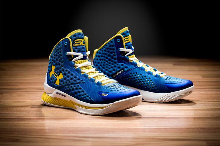 Under Armour a récemment dévoilé la première chaussure signature de Stephen Curry, le meneur star des Golden State Warriors en NBA. #UnderArmour