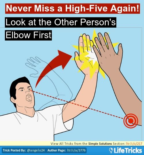Simple Solutions - Never Miss a High-Five Again!