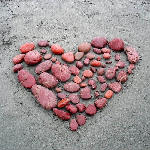 Coeur de galets