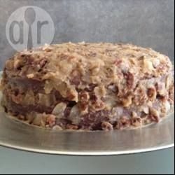 Pastel alemán de chocolate @ allrecipes.com.mx