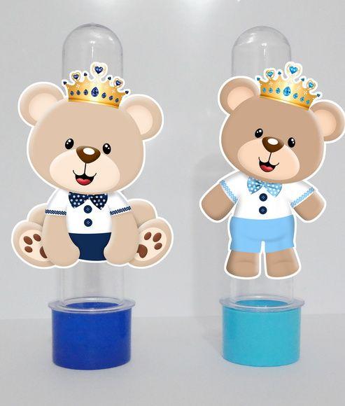 Tubete Personalizados ursinhos