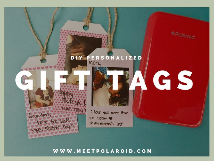 8 best how to make diy gift tags with the polaroid zip images on make gifts even more special by customizing your gift tags with the polaroid zip negle Choice Image