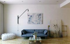 Awesome Minimalist Denim Sofa