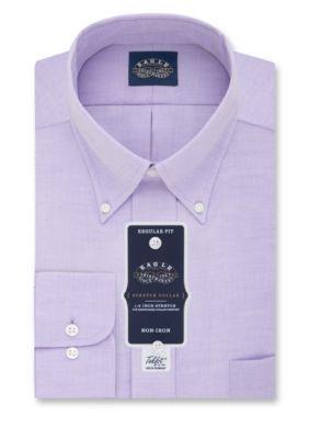 Eagle Men's Big & Tall Non Iron Dress Shirt - Hyacinth - 18.5 32/33
