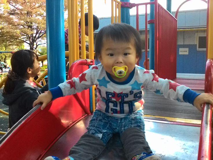世界にひとつだけの花~家族で公園へ旅立ち日誌!人気公園~萩中公園!キッズワールド大集合!