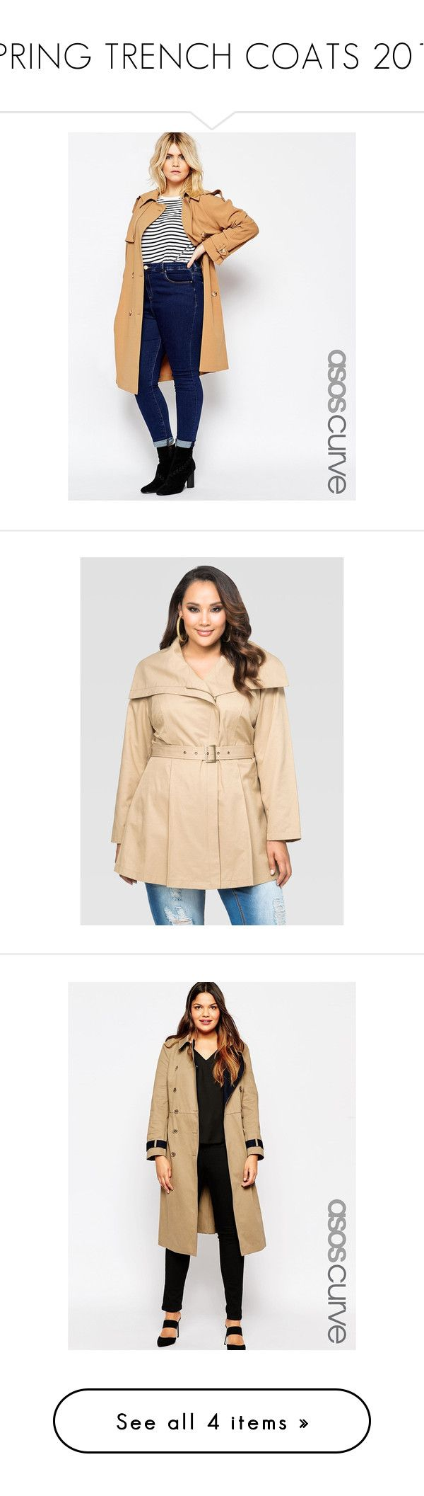 SPRING TRENCH COATS 2016 by audreannabellahawthorne on Polyvore featuring polyvore women's fashion clothing outerwear camel plus size trench coat asos curve coats plus size wrap coat belted trench coat wrap trench coat ashley stewart coats fur-lined coats plus size women's fashion plus size clothing plus size outerwear plus size coats khaki white double breasted coat white trench coat cotton trench coat khaki coat beige beige trenchcoat womens plus coats women plus size coats lane bryant…