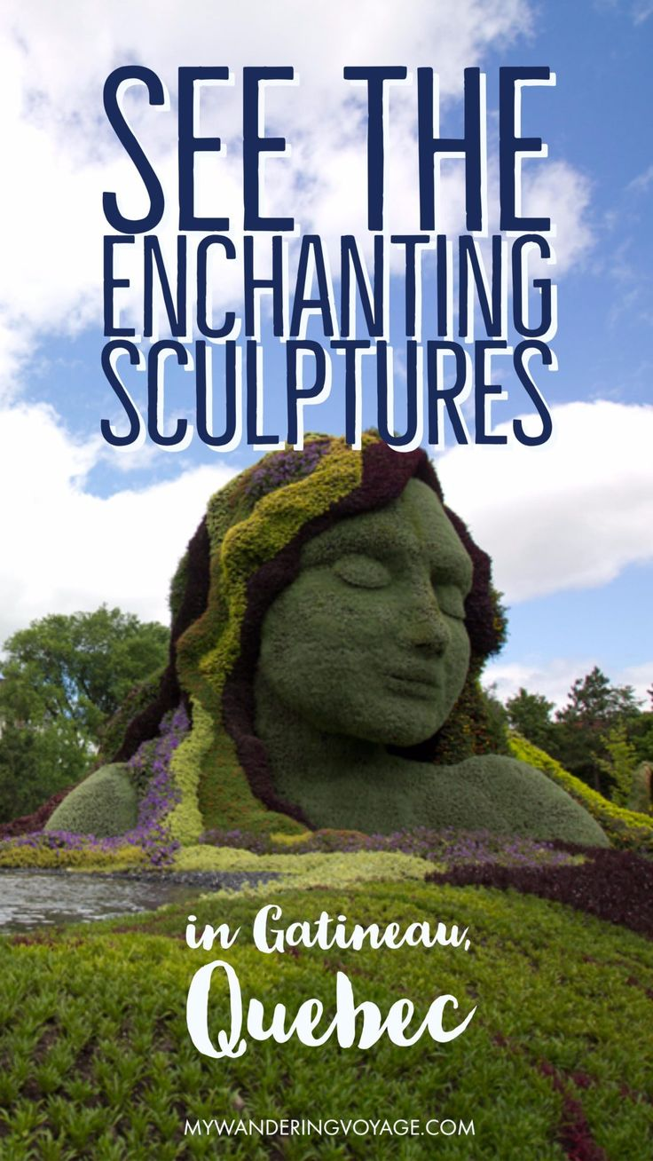 Check out the beautiful living sculptures at the MosaiCanada150 exhibit at Jacques-Cartier Park in Gatineau, Quebec before it disappears!   My Wandering Voyage travel blog