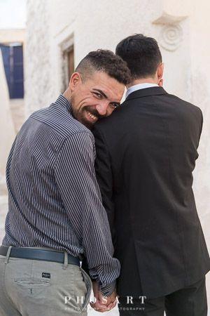 #santorini #greece #gaywedding #samesex #lgbt #wedding #equallywed #gaydestination #gayweddingplanner #prideweddings  #gaylove #twogrooms #justmarried  #weddingphotoshoot #outdoor #traditional   #weddingphotography #phosartphotography