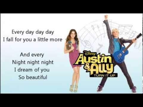 All RIGHT TO DISNEY CHANNEL Austin & Ally:Turn It Up Deluxe Editon 01 - Upside Down: http://www.youtube.com/watch?v=B2B8qR-UJ4A 02 - Me & You: http://www.you...