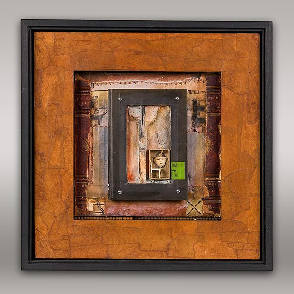 JEROME D'ANGELO - WORK#bedtimestory2#box#assemblage#mixedmedia#painting#collage