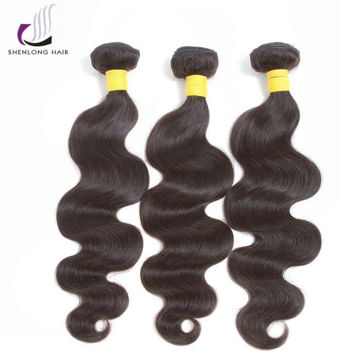 SHENLONG HAIR Brazilian Hair Weave Bundles Body Wa…