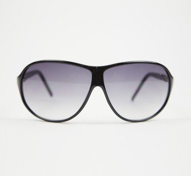 Calvin Klein Collection Black Sunglasses. #classic #chic
