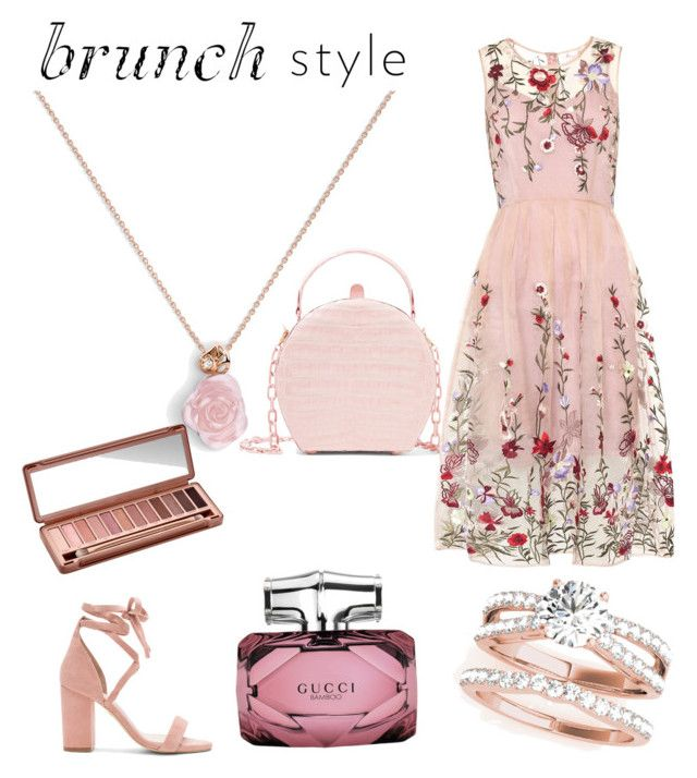 """💁🏼"" by iuliacalin on Polyvore featuring Raye, Nancy Gonzalez, Gucci and Urban Decay"