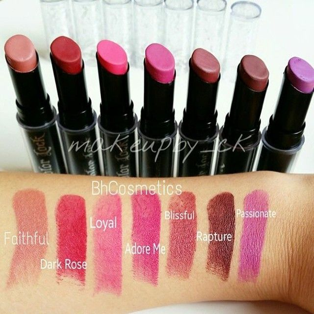 Color Lock Long Lasting Matte Lipstick by BH Cosmetics #21