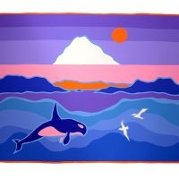 Ted Harrison - truly inspiring artist