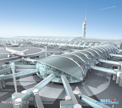 Best World Airport Images On Pinterest Airports Architecture - Biggest airport in usa