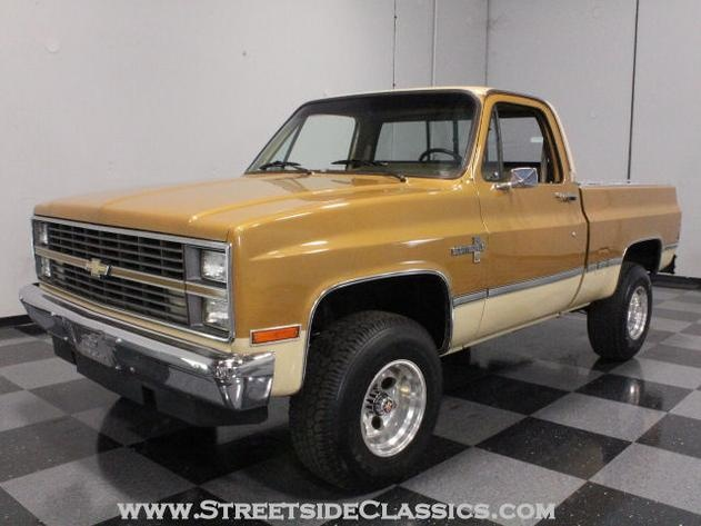 AutoTrader Classics - 1984 Chevrolet K10 Other Brown Other Automatic Other   Classic Trucks   Lithia Springs, GA