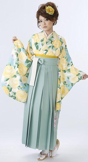卒業式の袴と着物のレンタル ハカマやさん 2629