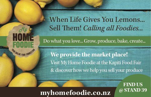 My Home Foodie is heading to the Kapiti Food Fair 2015