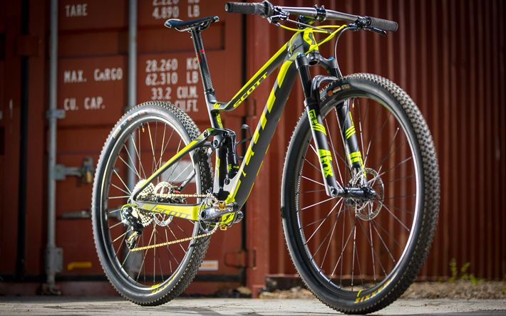 Download wallpapers SCOTT Spark RC 900 SL, 2017 bicycle, bicycles, SCOTT Spark
